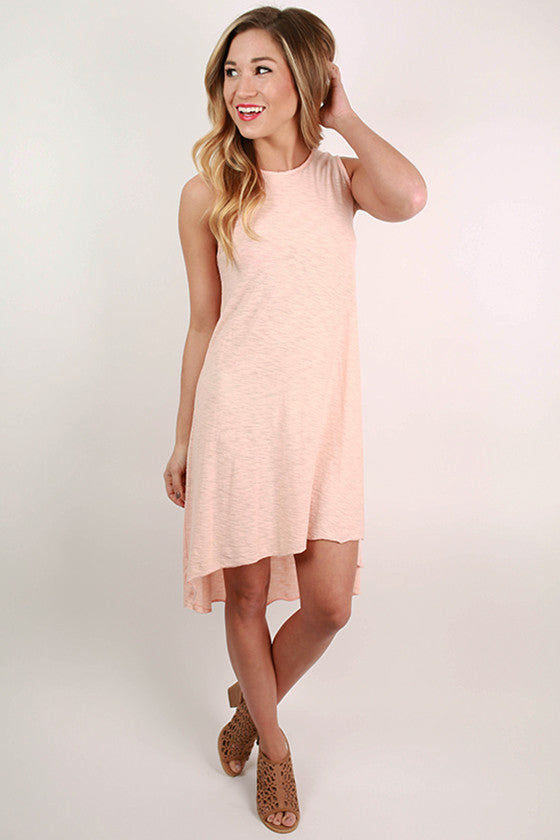 Keepsake Tunic Tank in Peach