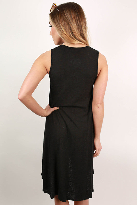 Keepsake Tunic Tank in Black
