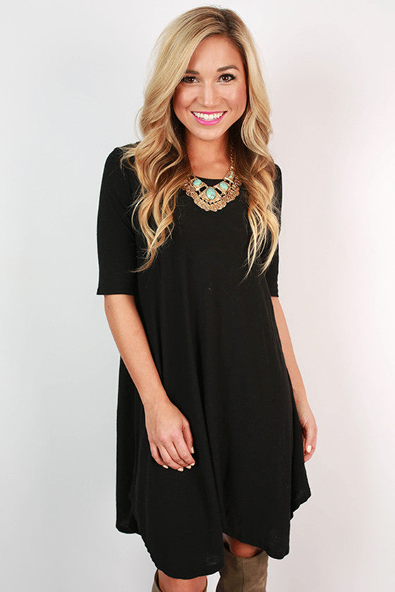 Keepsake Swing Tunic in Black