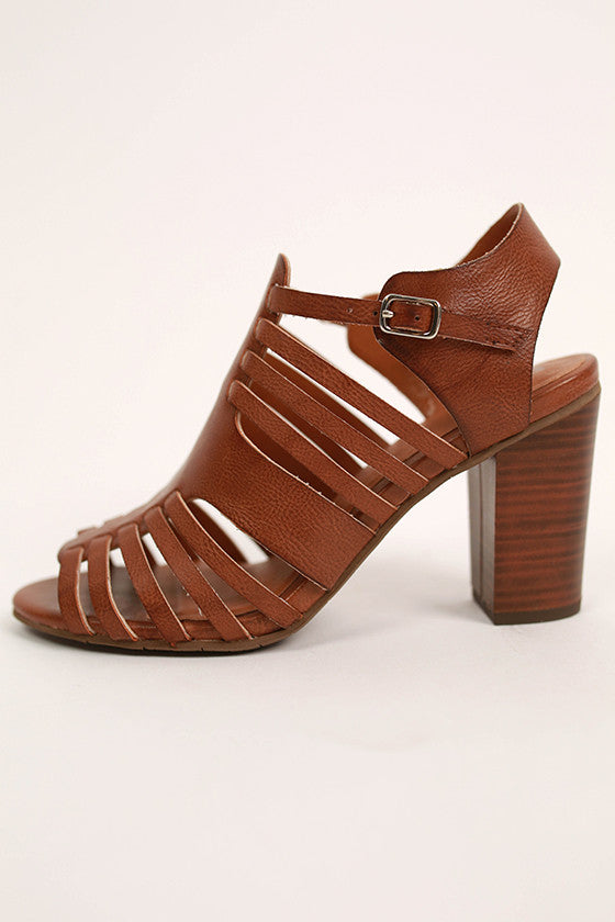 Rescue Heel in Brown
