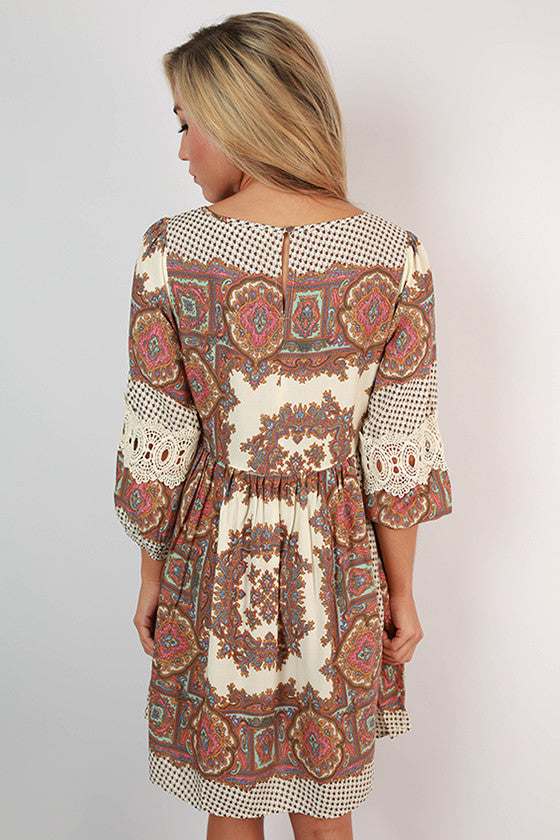 Feeling Playful Printed Dress