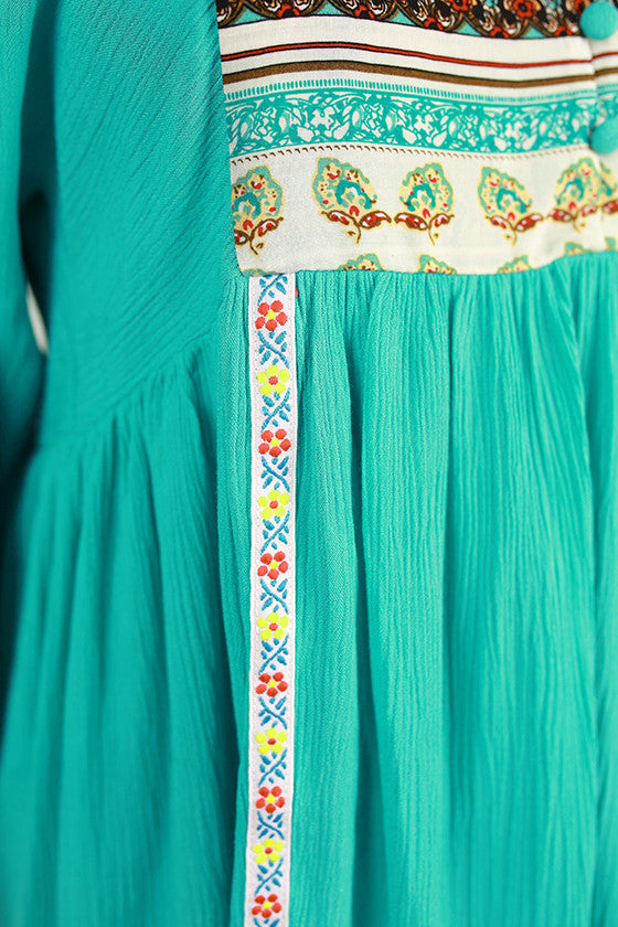 The Time Of My Life Dress in Turquoise