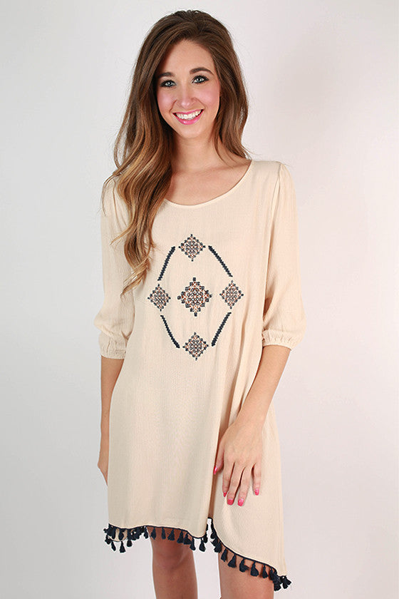 Divine Grace Hi-Lo Dress in Ivory