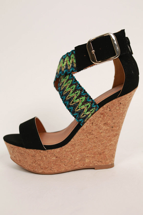 Finder's Keepers Wedge in Black