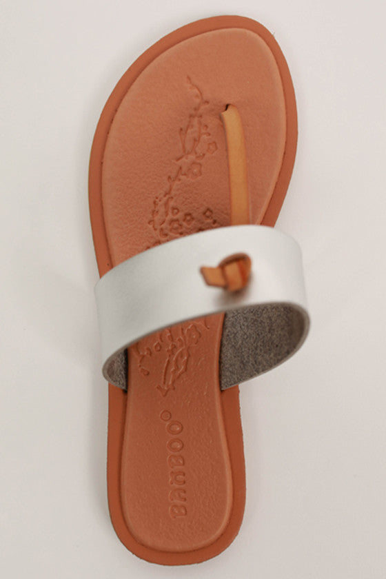 Kissed by the Sun Sandal in Silver