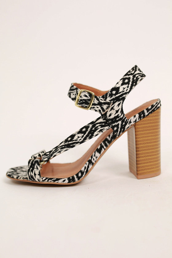 Ikat Get Enough Heel