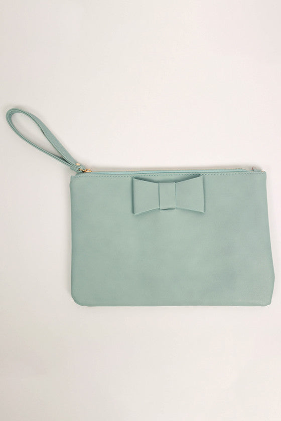 Let's Dance Clutch in Blue
