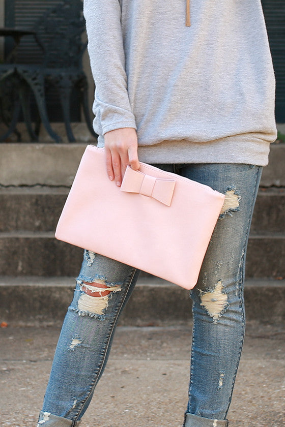 Let's Dance Clutch in Pink