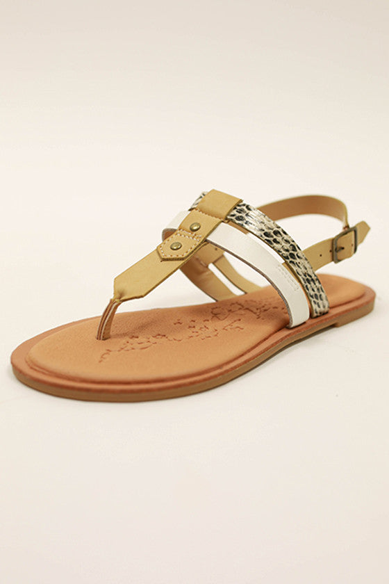 Calling Your Name Sandal in Snake