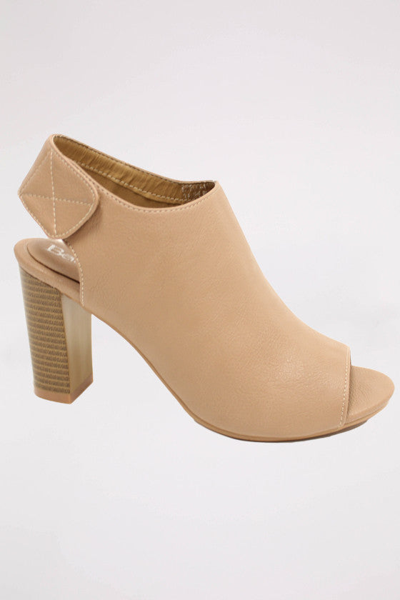 Sweet Serendipity Heel in Taupe