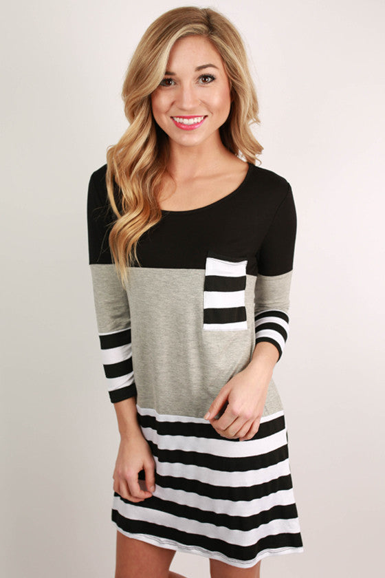 Constant Chic Stripe Dress
