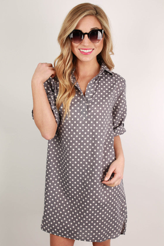 Chic On Repeat Tunic in Chambray