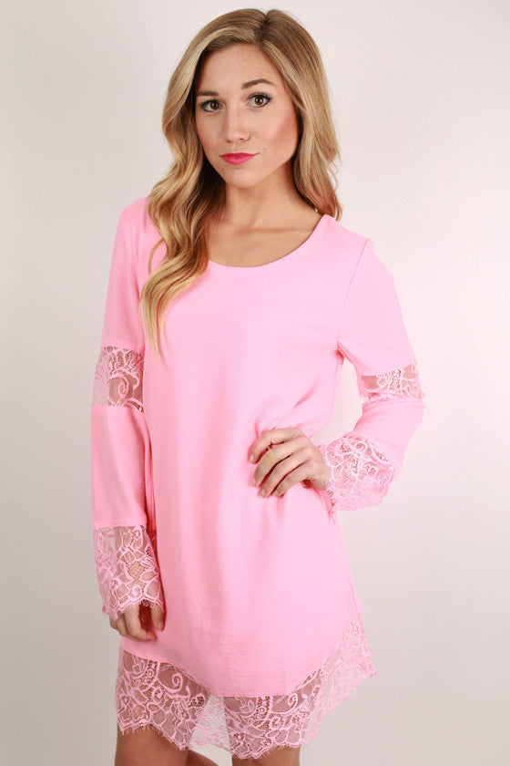 Gypsy Dreaming Dress in Pink