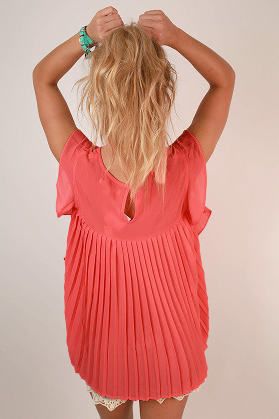 Call Me Beautiful Top in Neon Calypso