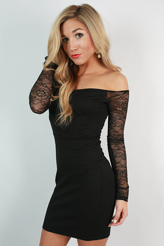 The Perfect Night Out Dress in Black