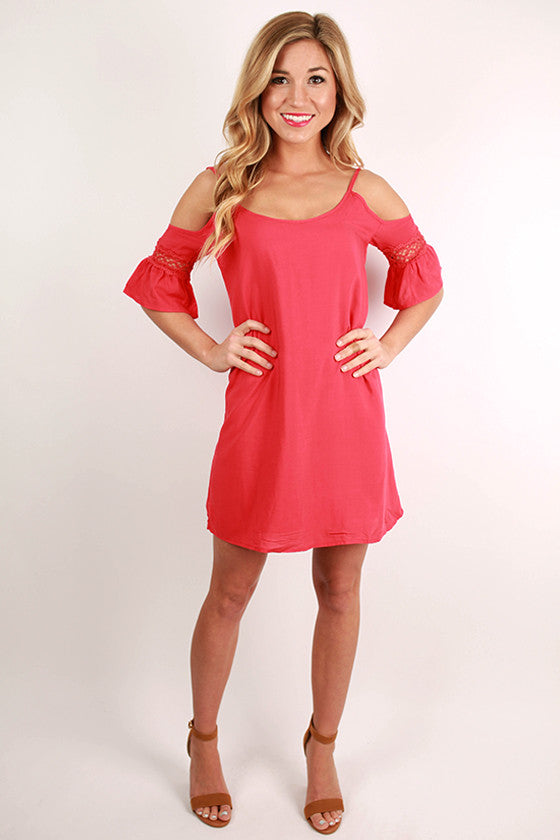Dancing in the Moonlight Tunic in Red