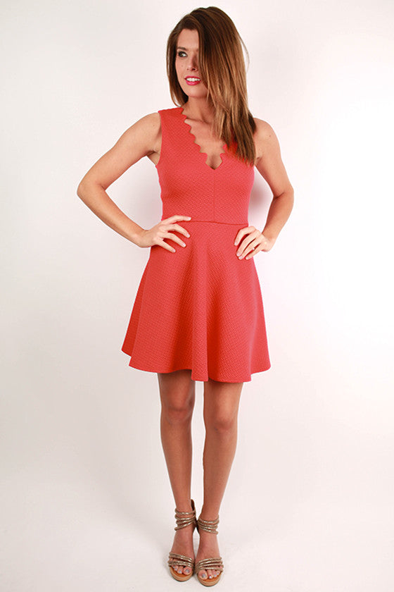Barbados Dreaming Dress in Red