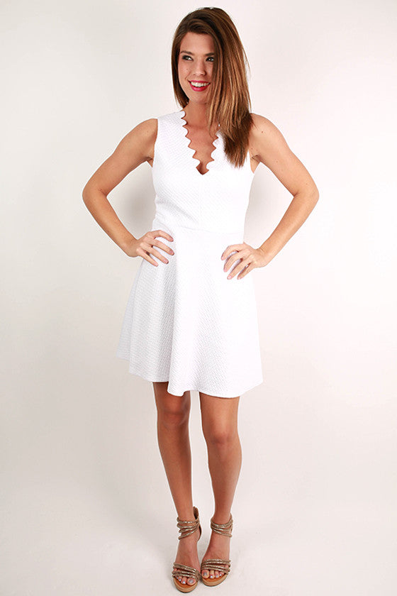 Barbados Dreaming Dress in White
