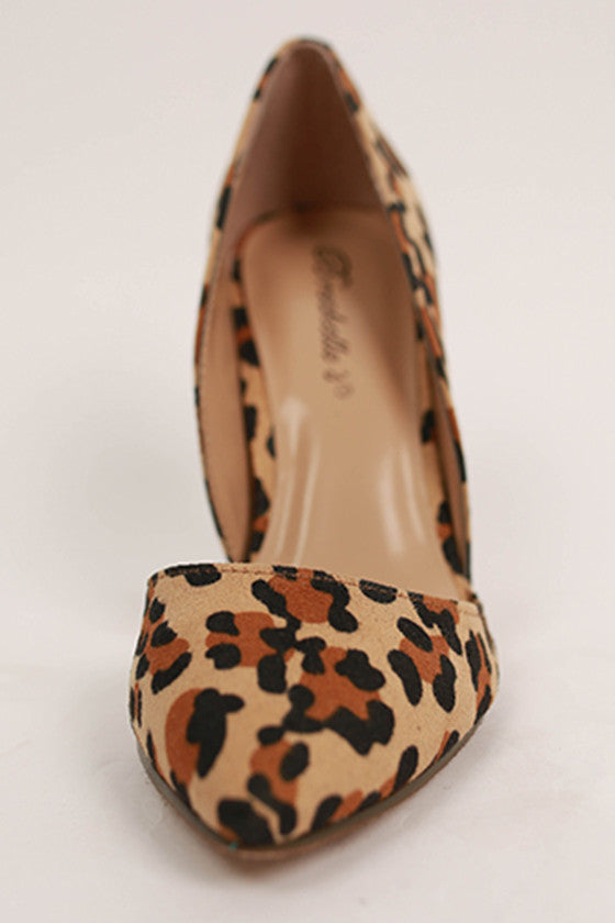 Out Until Midnight Heel in Leopard