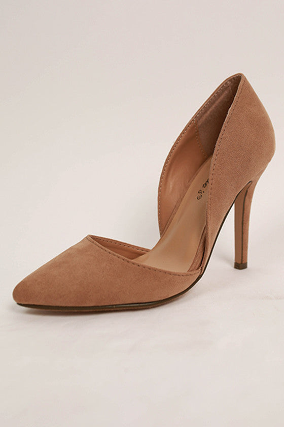Out Until Midnight Heel in Beige