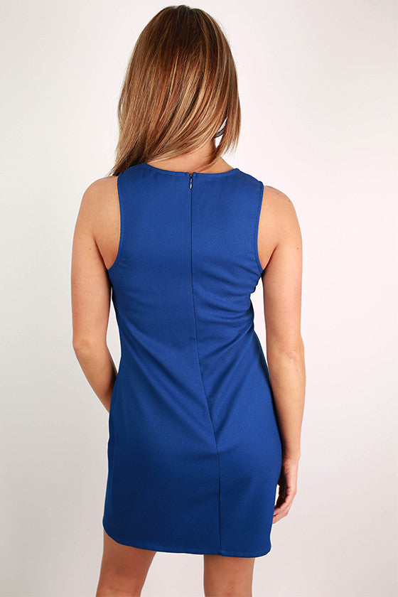 Above the Rest Dress in Royal Blue