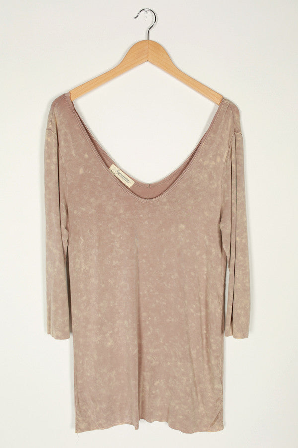 Make My Dreams Come True Top in Beige