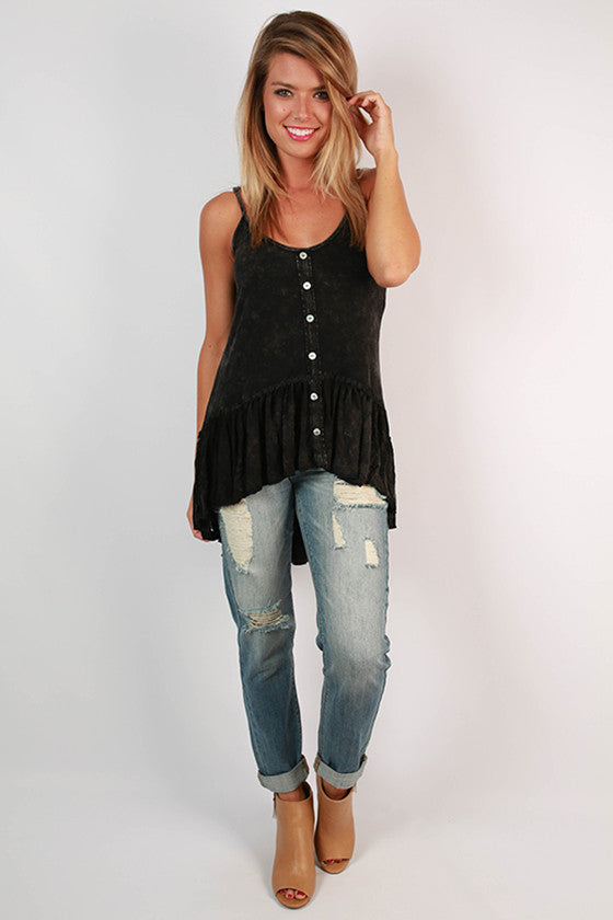 Cali Cutie Top in Black