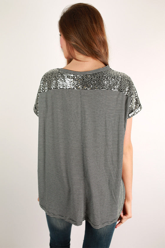 Light of My Life Top in Black