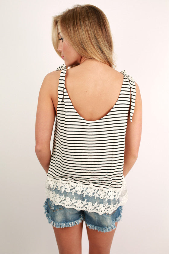 City Crushin' Flutter Tank in White