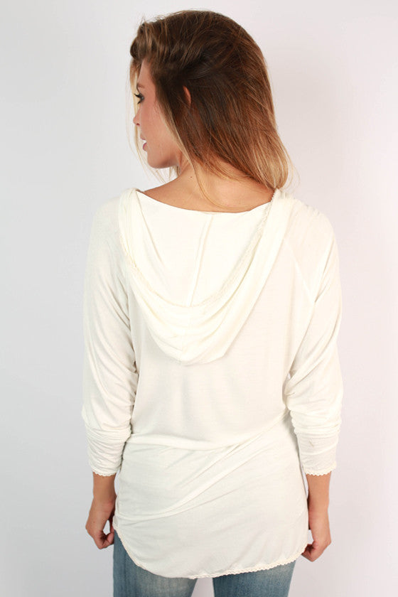 Instant Attraction Tunic in White