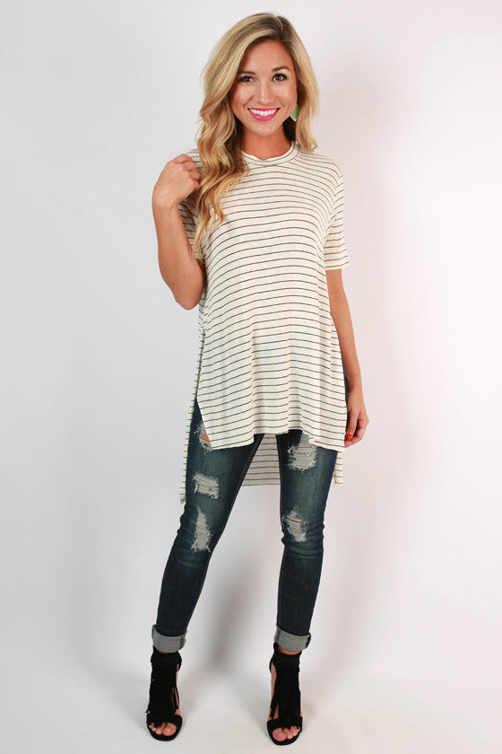 Take Me to the Vineyard Tunic in Ivory