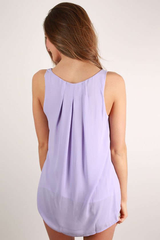 Tea with the Queen Top in Lavender