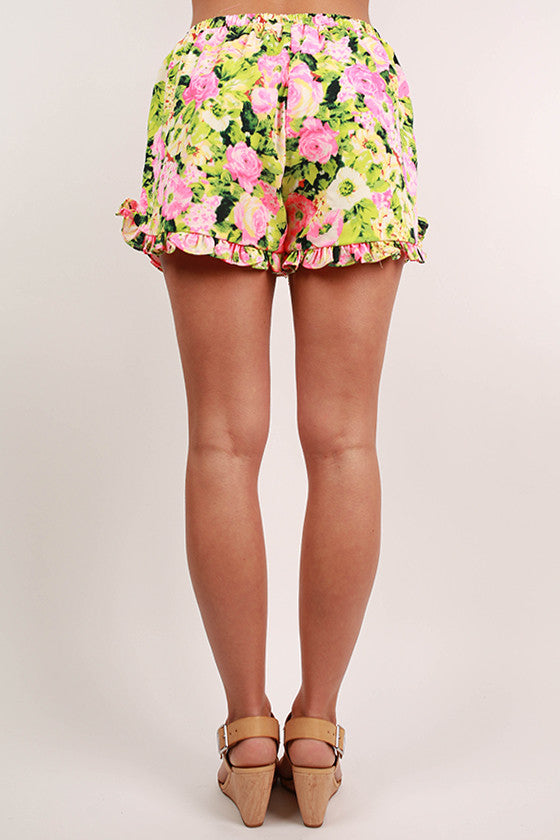 Florence Fun Shorts in Green
