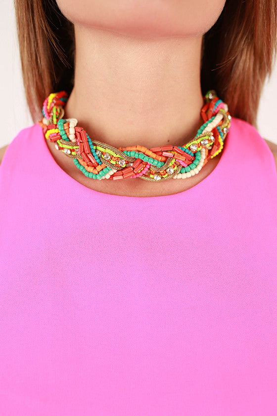 Charmingly Colorful Necklace