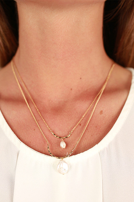 Pretty in Pearls Necklace in Ivory