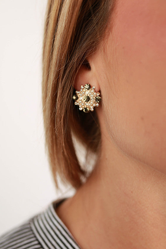 Always Classy Earrings in Black