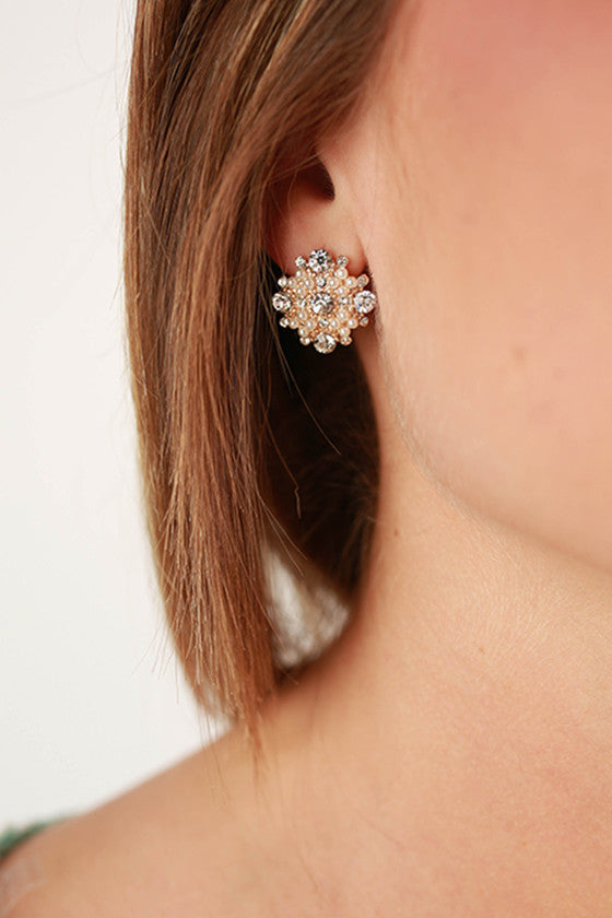 Always Classy Earrings in Clear