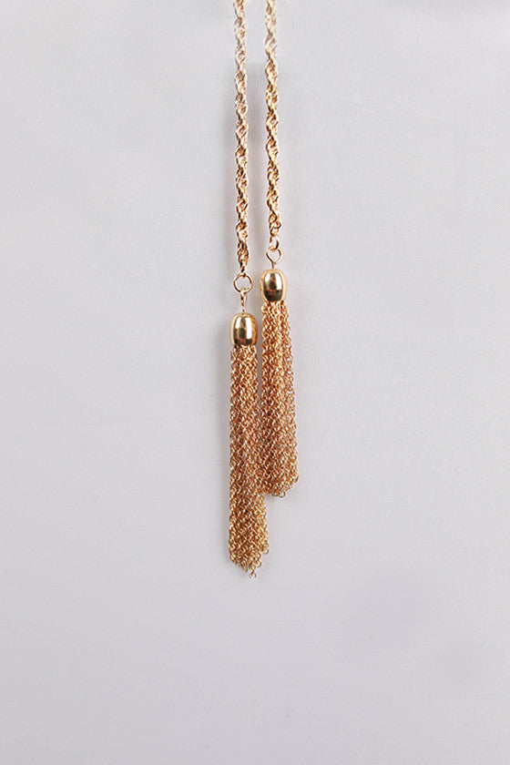 Fashion Fever Necklace in Gold