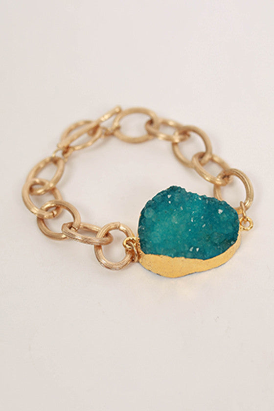 I'm in Love Bracelet in Ocean Blue