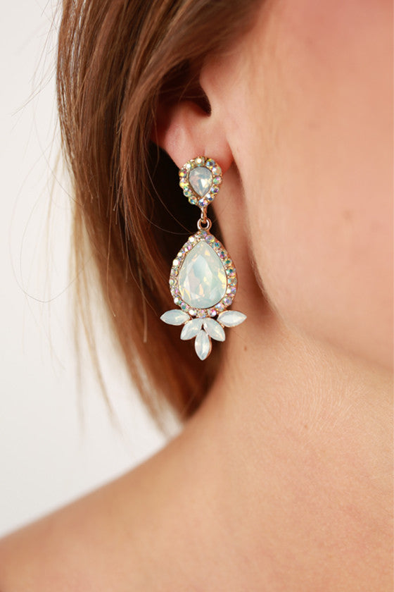 Life in Luxury Earrings in White