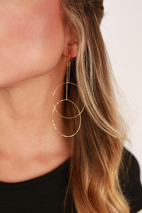 City Girl Earrings in Gold