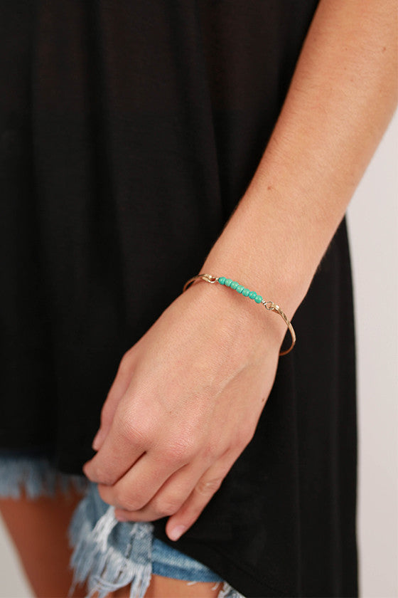Favorite Arm Candy Bracelet in Turquoise