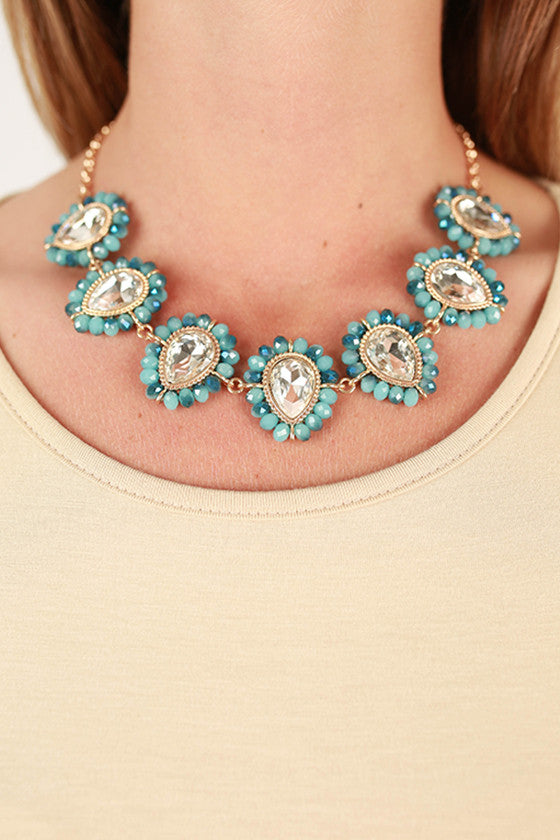 Rodeo Drive Necklace in Turquoise