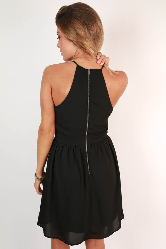 Save The Drama Dress in Black