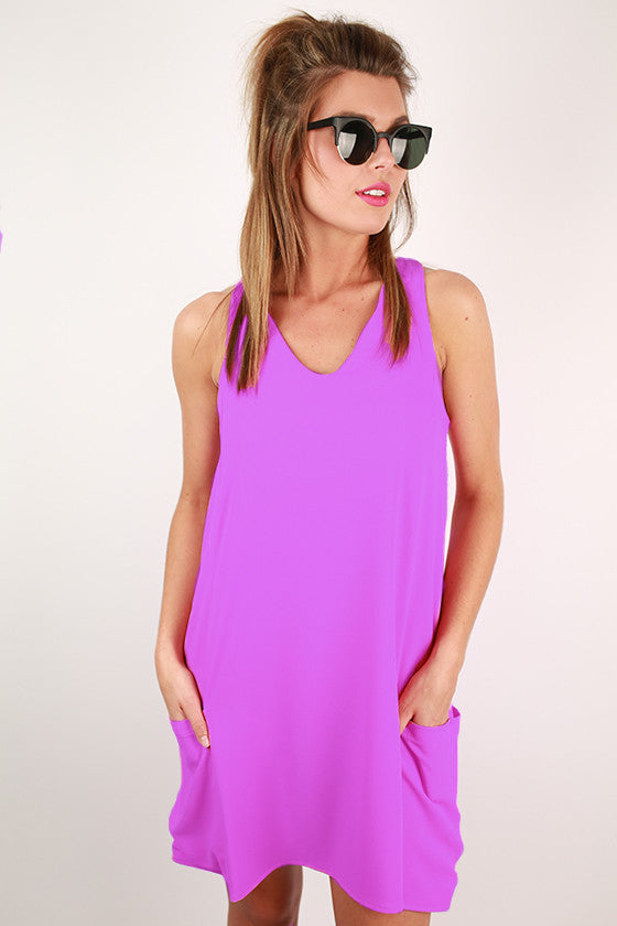 Beauty To Be Seen Dress in Violet