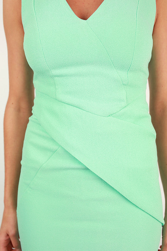 Always A Beauty Dress in Mint