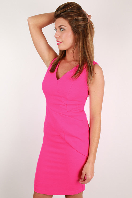 Always A Beauty Dress in Magenta