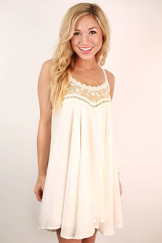 The Wonderland Tunic in White