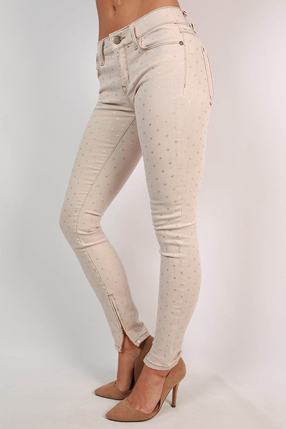 Dottie Skinny Jean in Blush