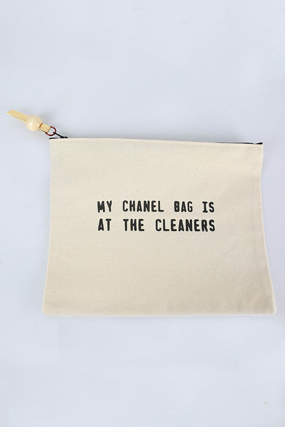 Canvas Bag Chanel Cleaners